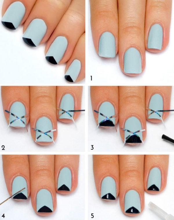 Маникюр на короткие ногти в домашних условиях поэтапно