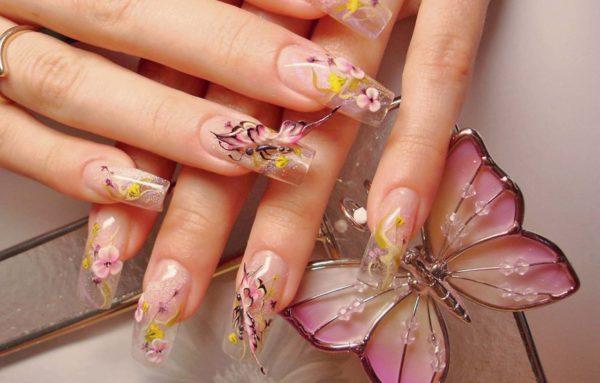 Фото и рисунки дизайн ногтей