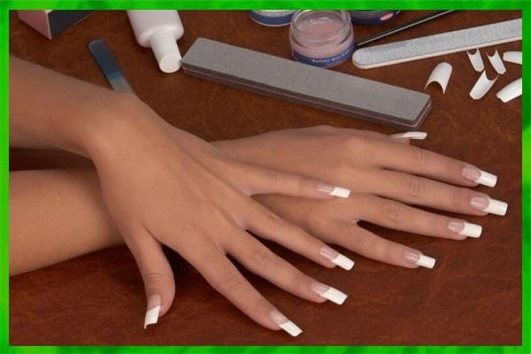 Наращивание ногтей акрилом в домашних условиях для начинающих на формах