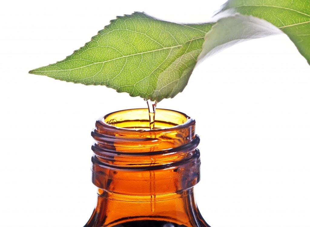 Отбеливание ногтей маслом чайного дерева