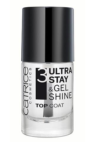 Верхнее покрытие для ногтей Catrice Ultra Stay & Gel Shine Top Coat