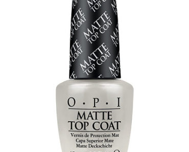 Топовое покрытие для создания матового эффекта OPI Matte Top Coat