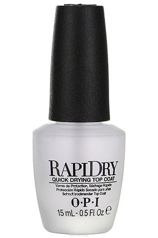"""Быстросохнущее верхнее покрытие для ногтей OPI """"RapiDry"""""""