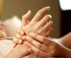 Укрепление ногтей массажем