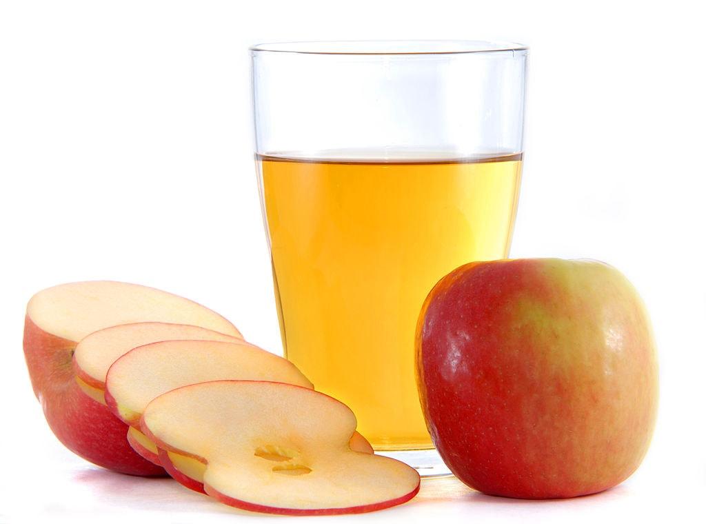 Укрепление ногтей яблочным уксусом