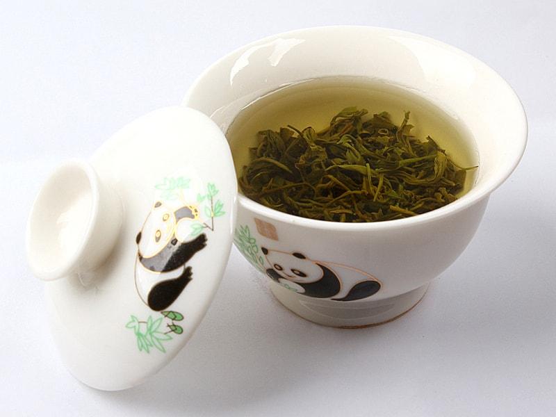Укрепление ногтей зеленым чаем