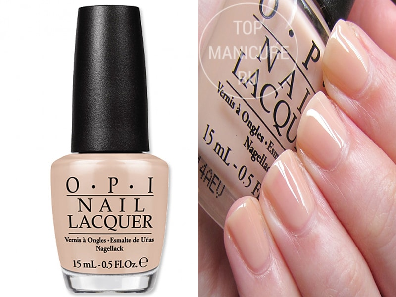 Бежевый лак для ногтей OPI Glints Of Glinds