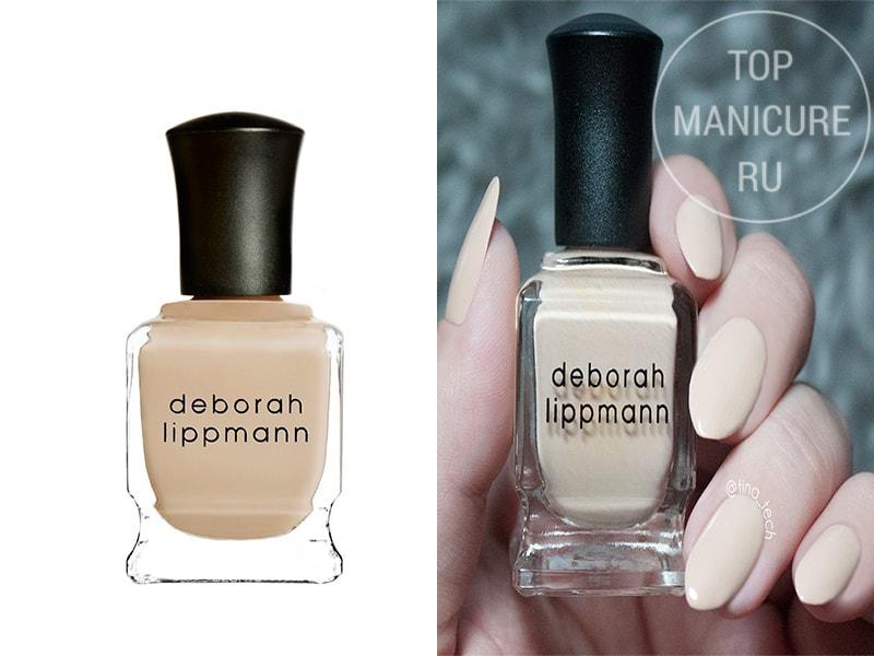 Бежевый лак для ногтей Deborah Lippmann Shifting Sands