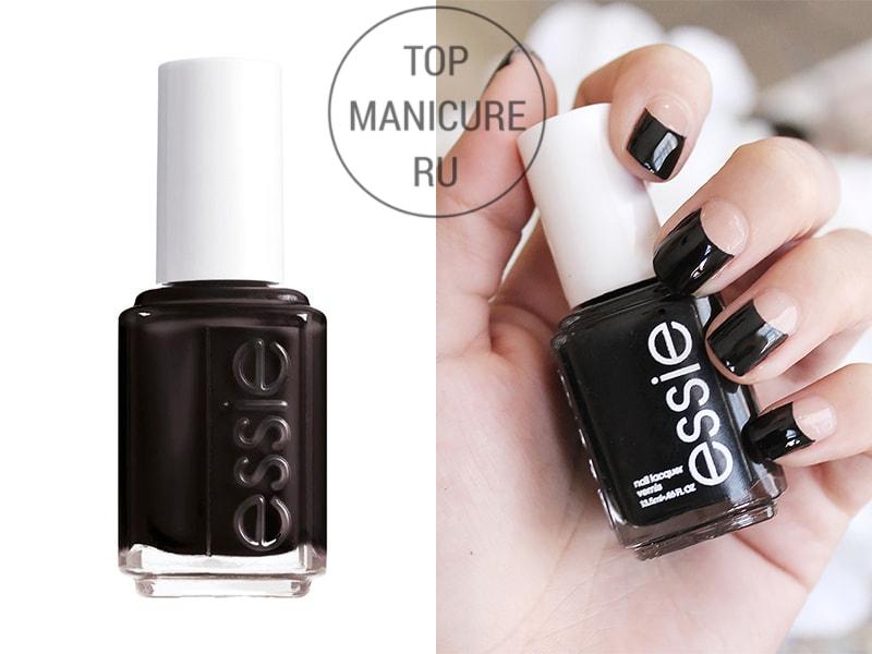 Черный лак для ногтей Essie Licorice