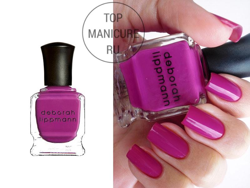 Фиолетовый лак для ногтей Deborah Lippmann Between The Sheets