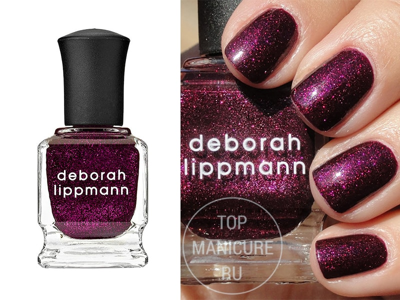 Фиолетовый лак для ногтей Deborah Lippmann Good Girl Gone Bad