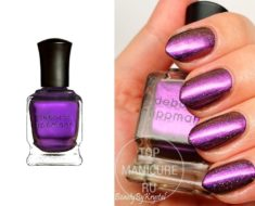 Фиолетовый лак для ногтей Deborah Lippmann Private Dancer