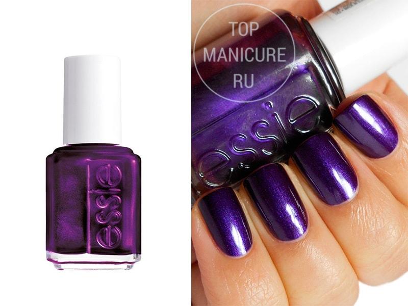 Фиолетовый лак для ногтей-essie-sexy-divide