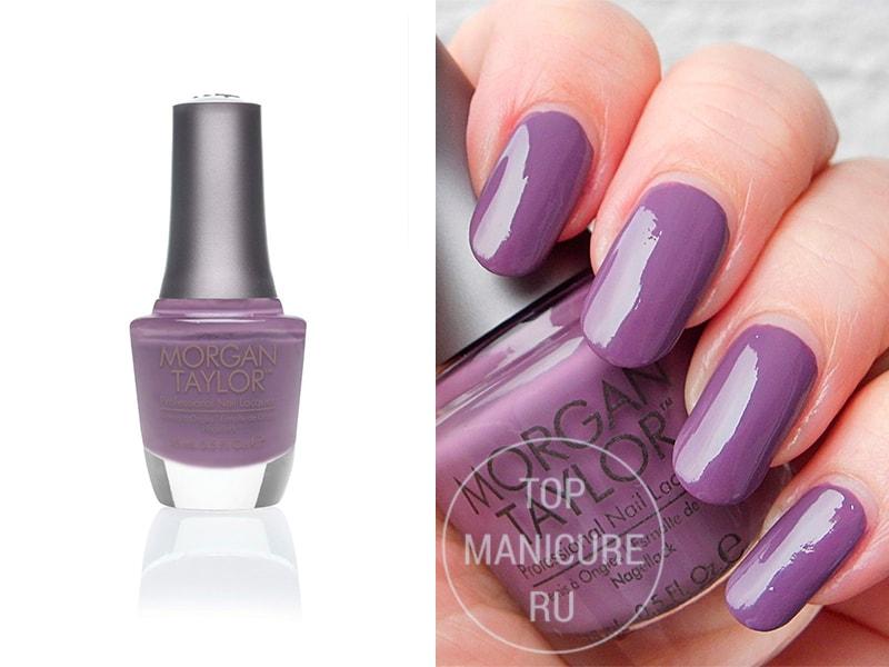 Фиолетовый лак для ногтей Morgan Taylor Berry Contrary