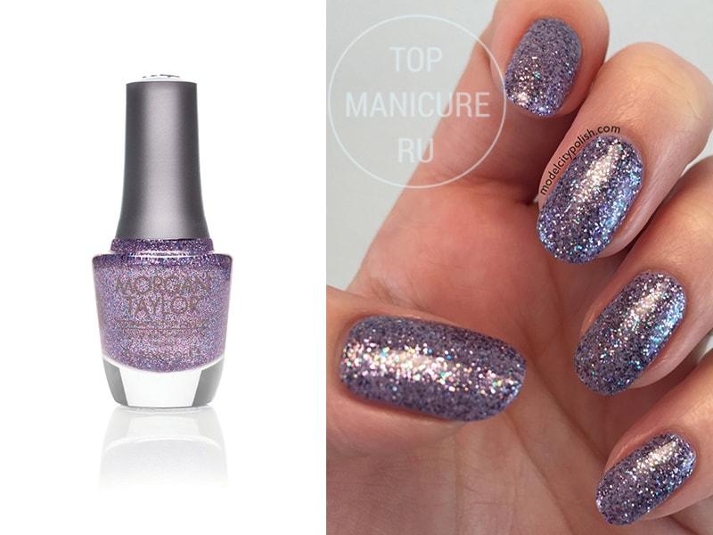 Фиолетовый лак для ногтей Morgan Taylor Let Them Eat Cake