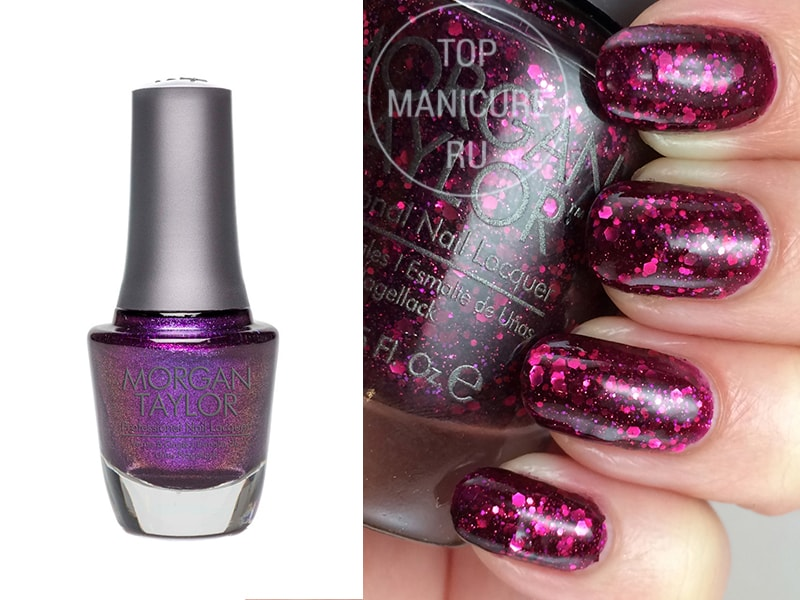 Фиолетовый лак для ногтей Morgan Taylor To Rule Or Not To Rule