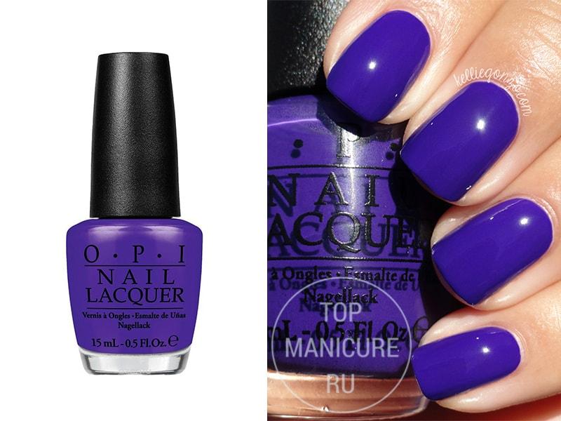 Фиолетовый лак для ногтей OPI Do You Have This Color In Stock Holm