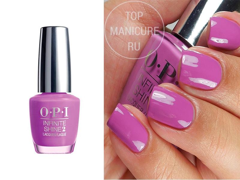 Фиолетовый лак для ногтей OPI Grapely Admired