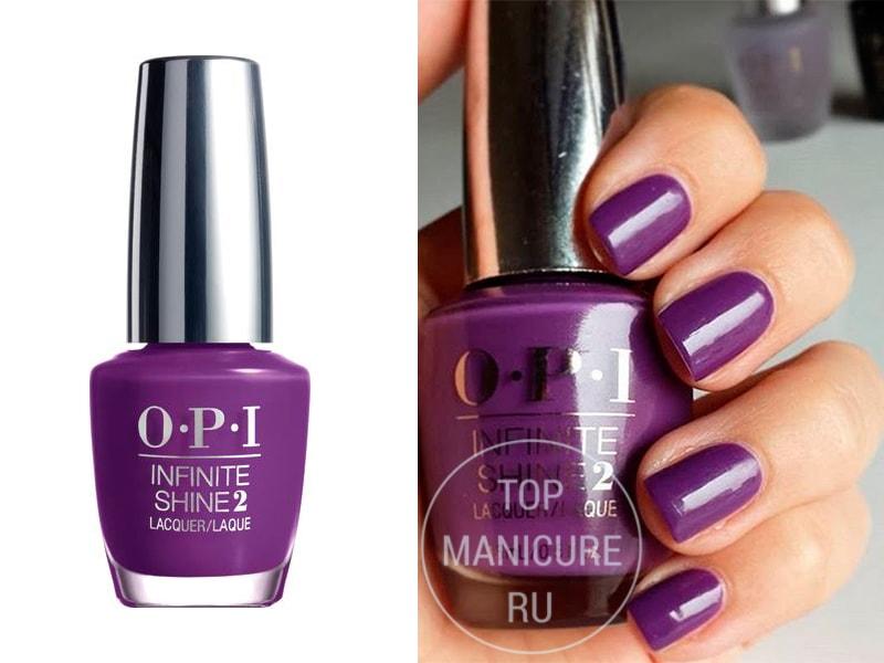 Фиолетовый лак для ногтей OPI Purpletual Emotion
