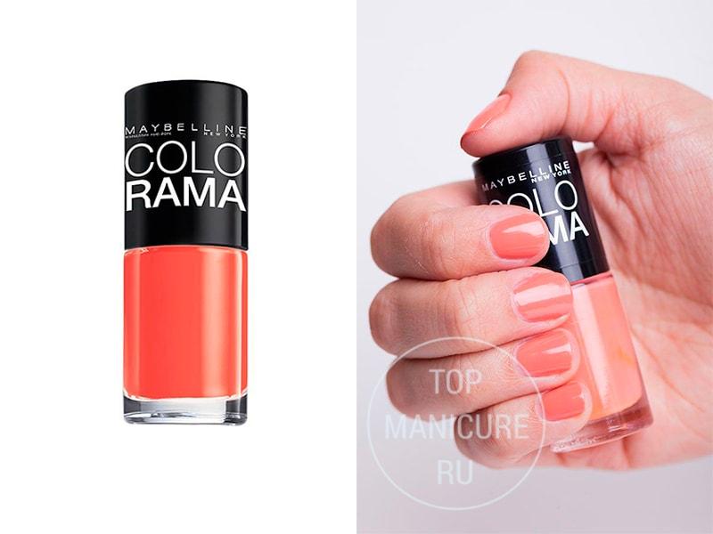 Кораловый лак для ногтей Colorama-311