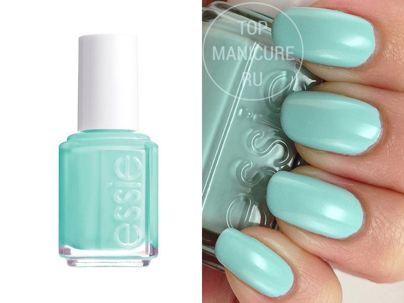Мятный лак для ногтей Essie Mint Candy Apple