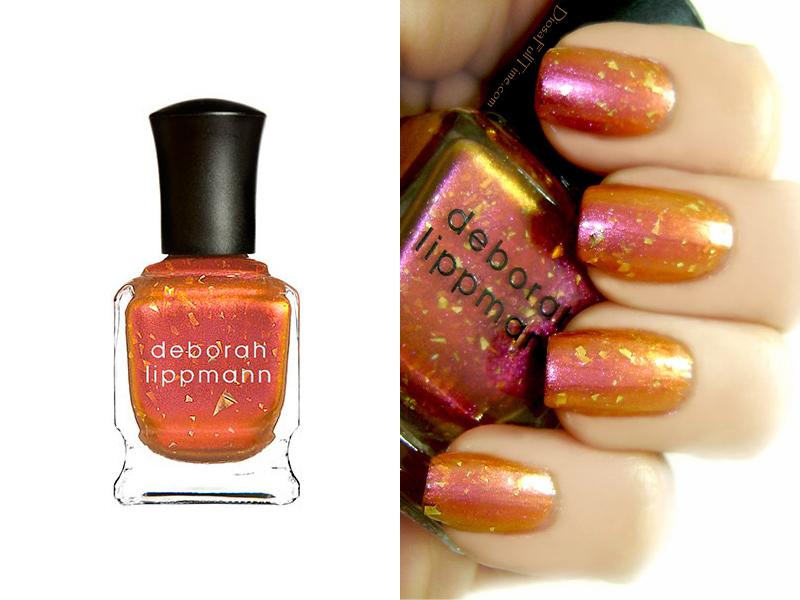 Оранжевый лак для ногтей Deborah Lippmann Marrakesh Express