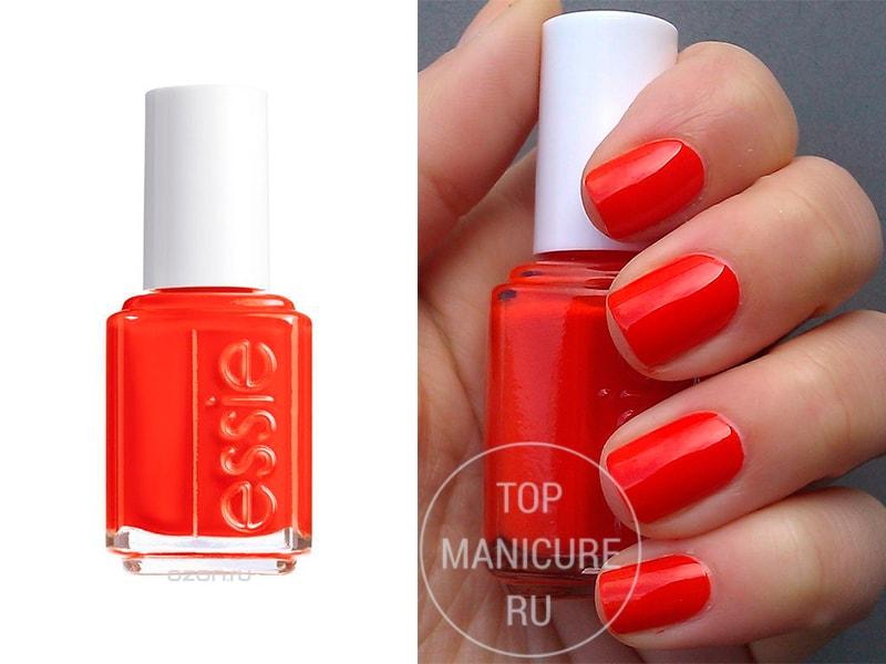 Оранжевый лак для ногтей Essie Sunset Sneaks