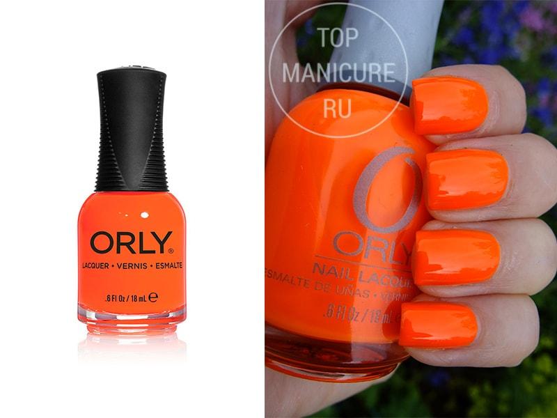 Оранжевый лак для ногтей Orly Melt Your Popsicle