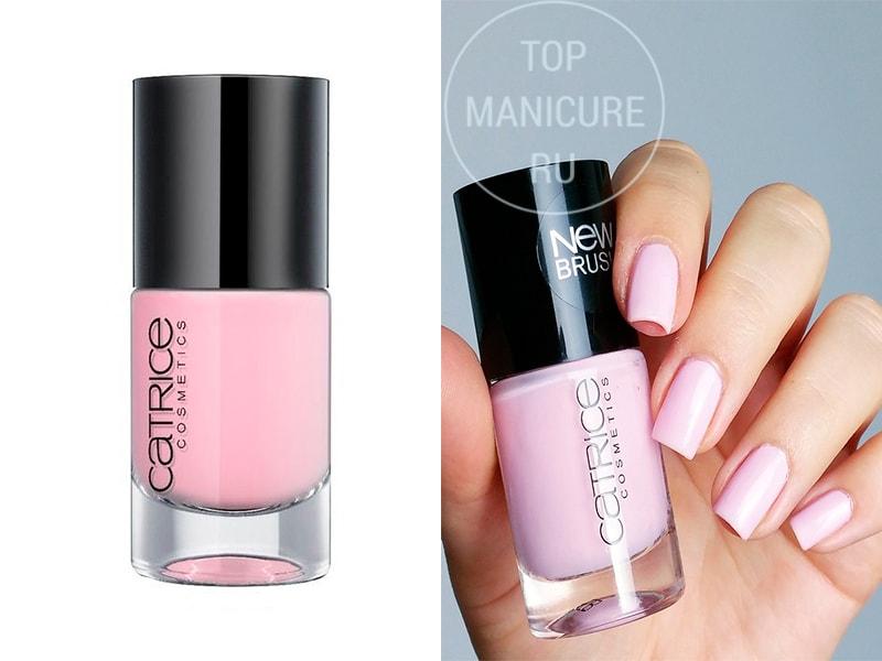 Нежно-розовый лак для ногтей Catrice Love Affair In The Bel Air