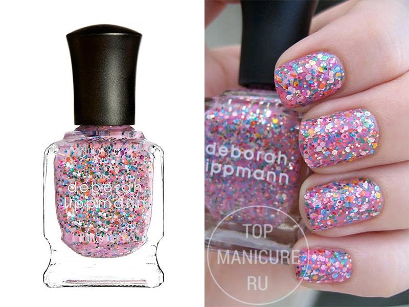 Нежно-розовый лак для ногтей Deborah Lippmann Candy Shop