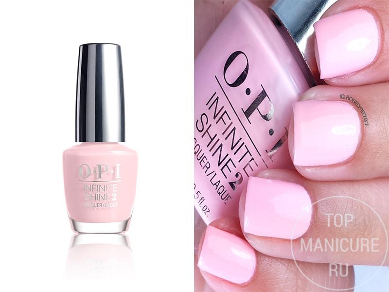 Нежно-розовый лак для ногтей OPI Its Pink PM