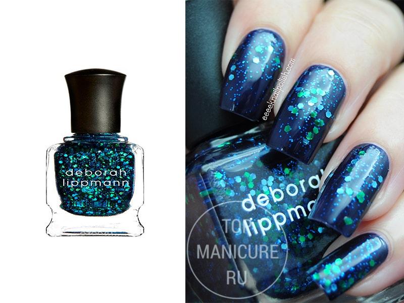 Синий лак для ногтей Deborah Lippmann Across The Universe