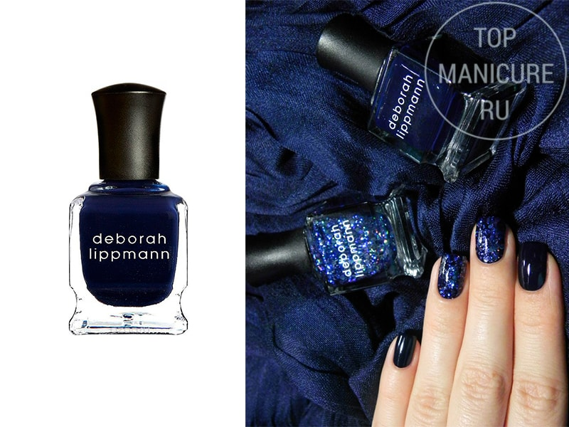 Синий лак для ногтей Deborah Lippmann Rolling In The Deep