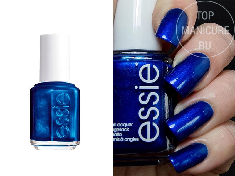 Синий лак для ногтей Essie Aruba Blue