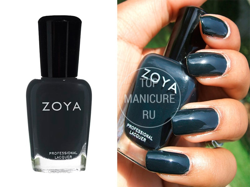 Синий лак для ногтей Zoya Cynthia