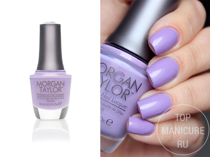 Сиреневый лак для ногтей Morgan Taylor Dress Up
