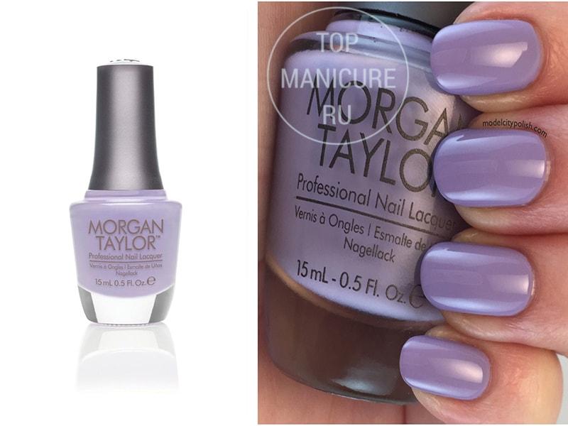 Сиреневый лак для ногтей Morgan Taylor I Love You
