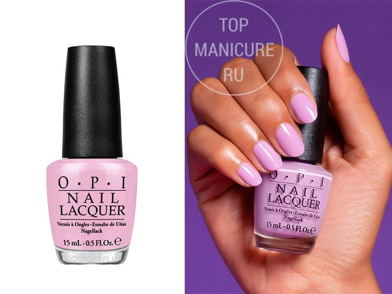 Сиреневый лак для ногтей OPI Purple Palazzo Pants