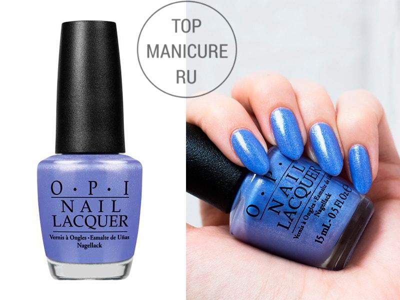 Сиреневый лак для ногтей OPI Show Us Your Tips