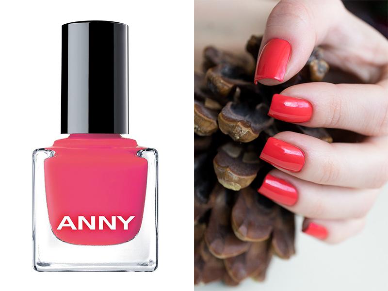 Ярко-розовый лак для ногтей ANNY 173