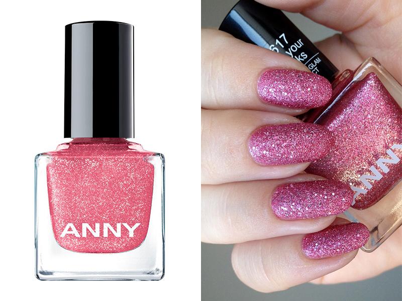 Ярко-розовый лак для ногтей ANNY 617