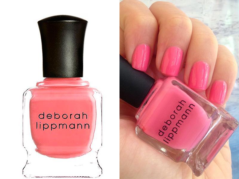 Ярко-розовый лак для ногтей Deborah Lippmann Break 4 Love