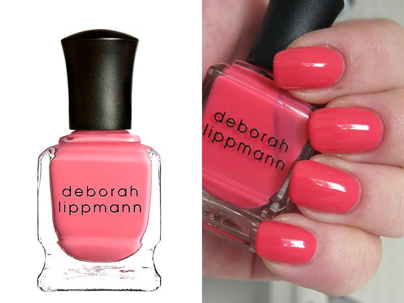 Ярко-розовый лак для ногтей Deborah Lippmann Daytripper