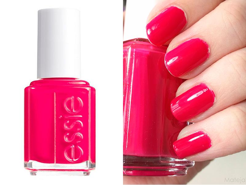 Ярко-розовый лак для ногтей Essie Watermelon