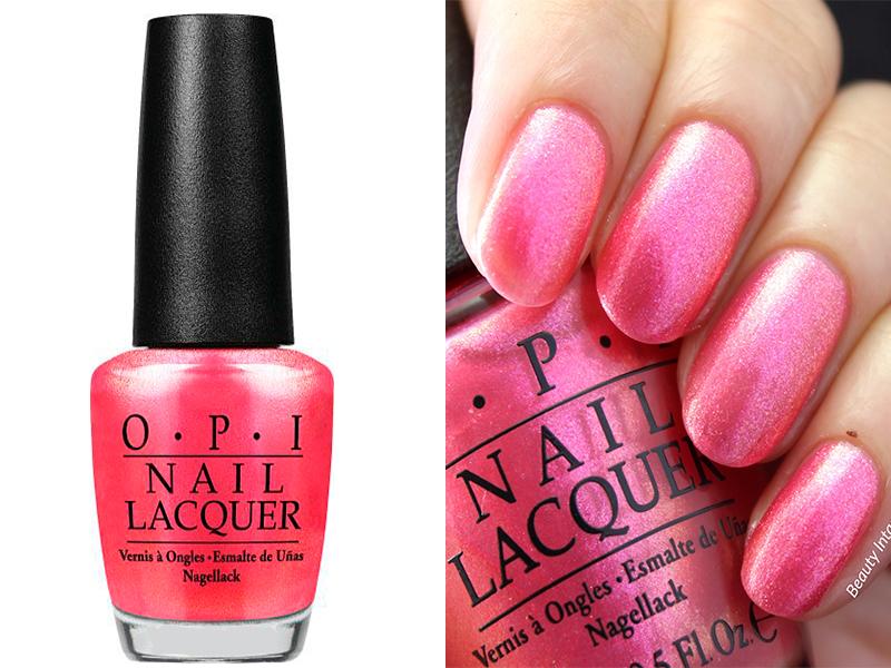 Ярко-розовый лак для ногтей OPI Cant Hear Myself Pink