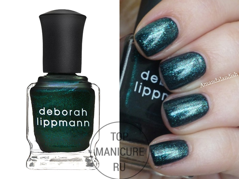Зеленый лак для ногтей Deborah Lippmann Dont Tell Mama