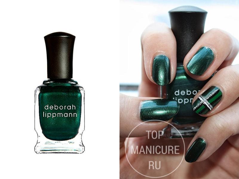 Зеленый лак для ногтей Deborah Lippmann Laughin To The Bank