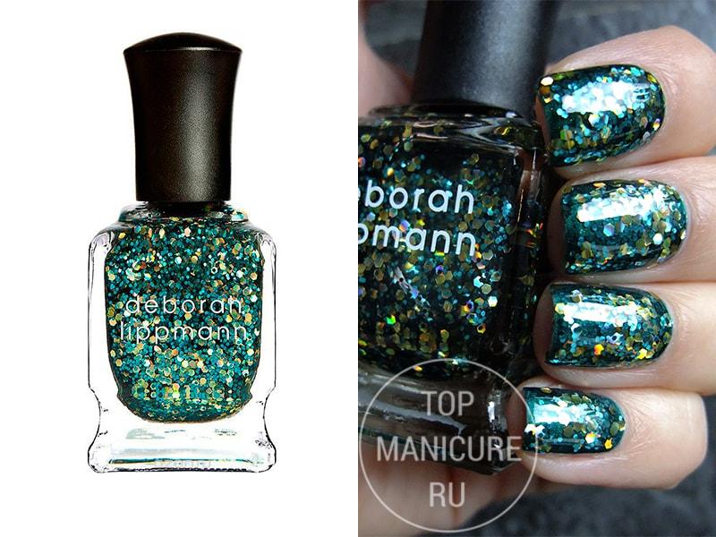 Зеленый лак для ногтей Deborah Lippmann Shake Your Money Maker