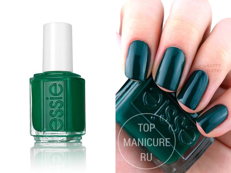 Зеленый лак для ногтей Essie Off-Tropic