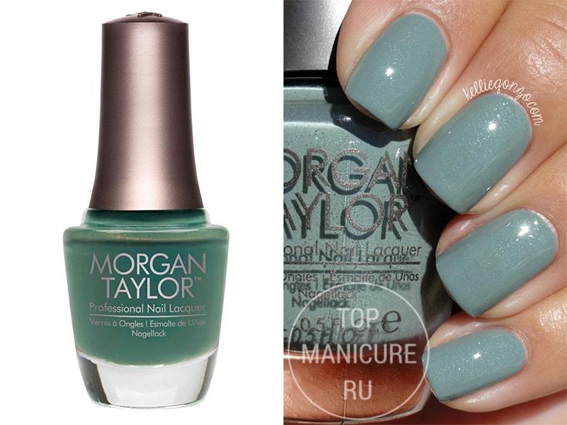 Зеленый лак для ногтей Morgan Taylor Holy Cow Girl